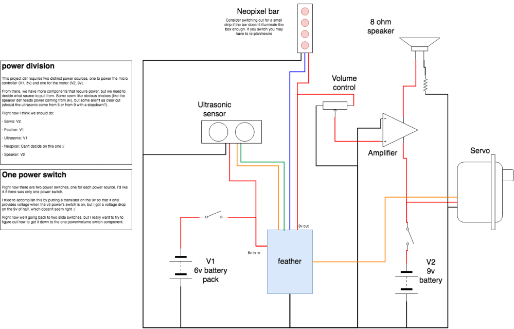 medium resolution of trying to cut down to one power switch in a circuit with two power sources