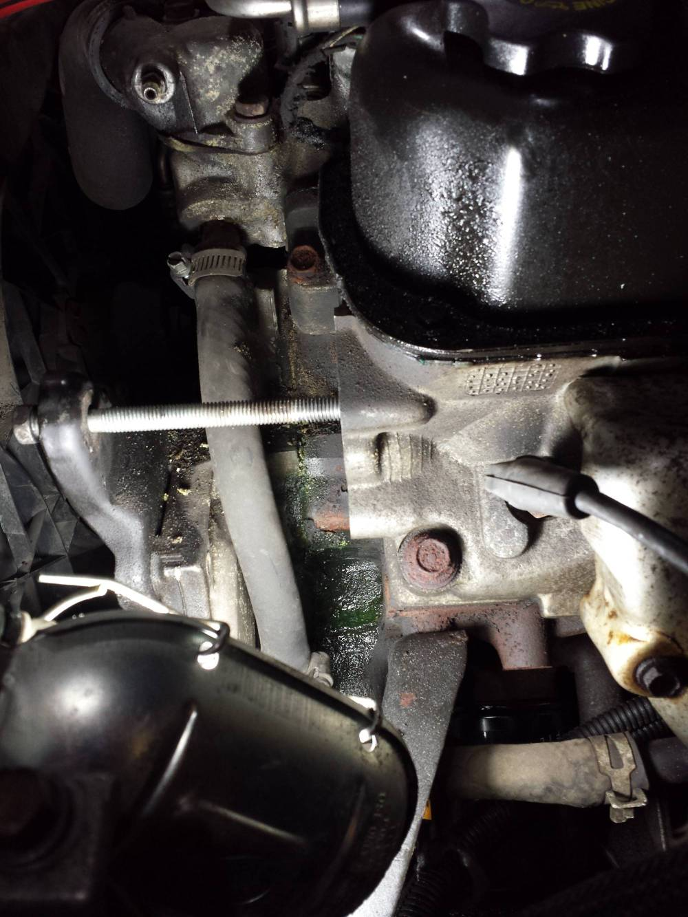 medium resolution of mystery coolant leak