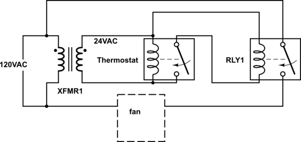 Thermostat Relay Wiring