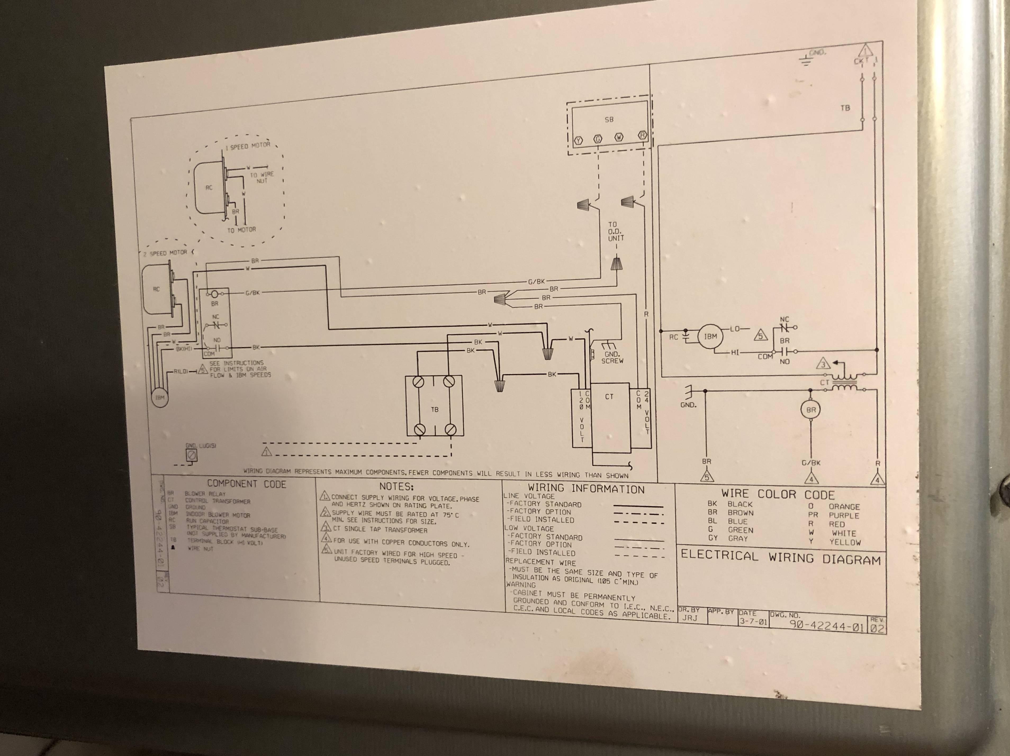 Carrier Air Handler Wiring Diagram On Air Handler Wiring Diagrams