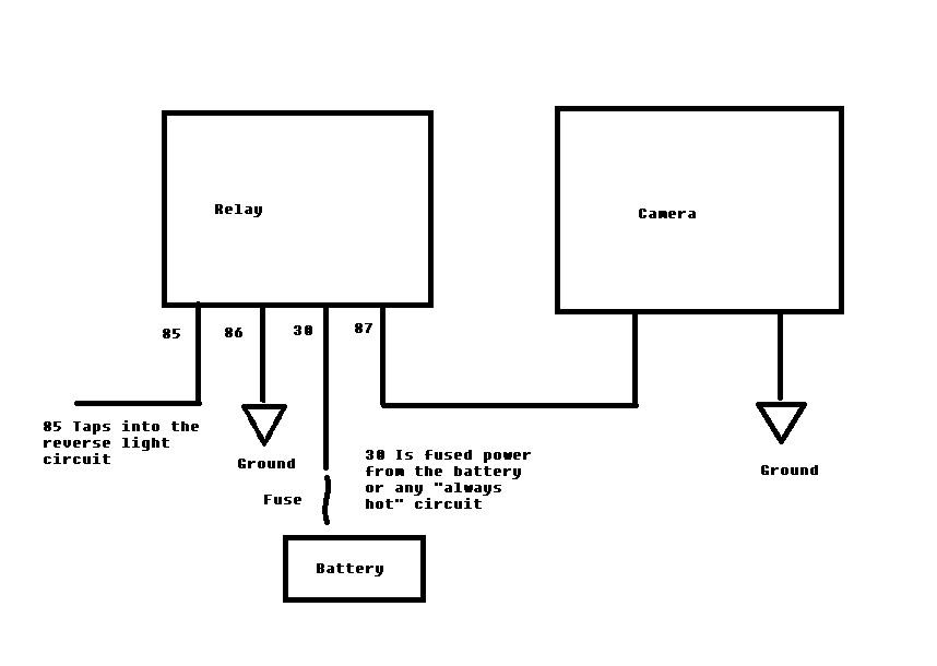 ccd camera wiring diagram switch
