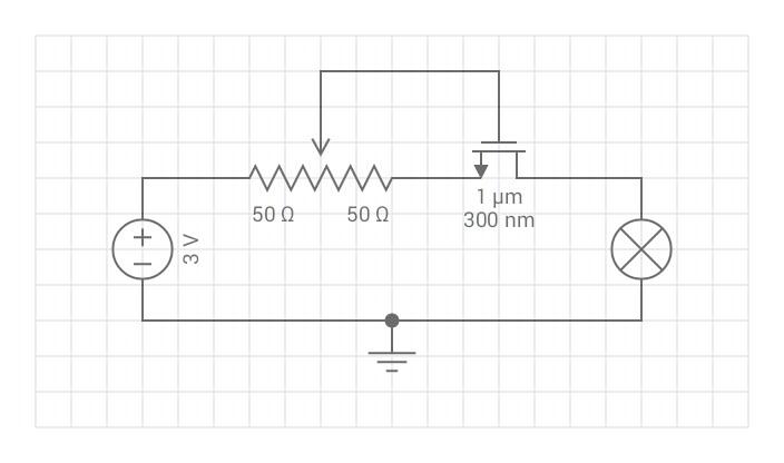 engineering schematics lamp
