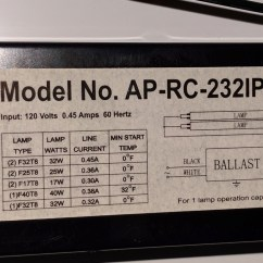 Ge Proline T8 Ballast Wiring Diagram 02 Chevy Silverado Radio Light Fixture Library