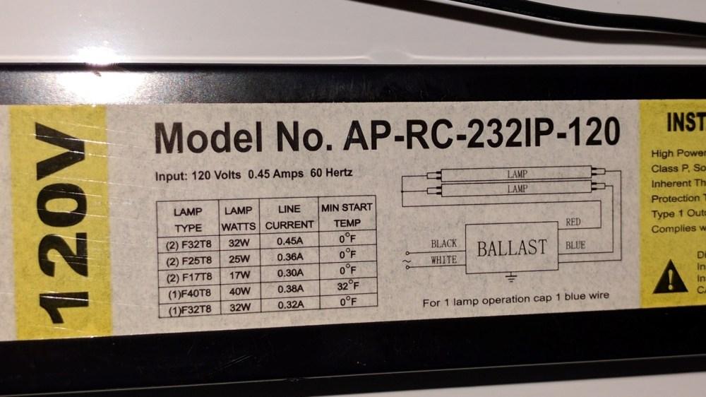 medium resolution of t8 ballast wiring diagram
