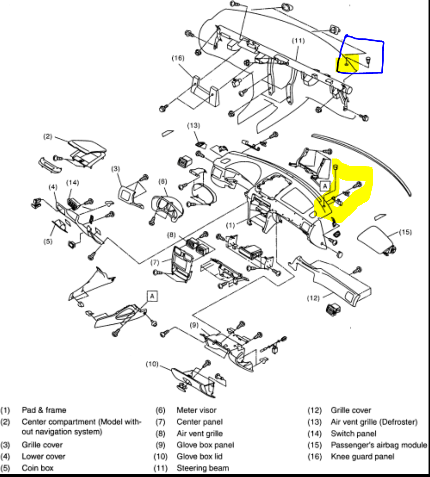 medium resolution of malfunctioning ambient temperature gauge 2004 subaru forester