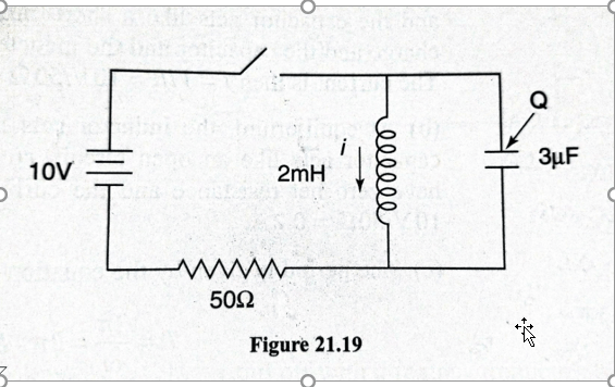 Circuits With Inductors Capacitors And Resistors