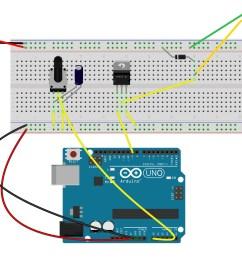 use potentiometer to control motor s speed [ 2313 x 1533 Pixel ]