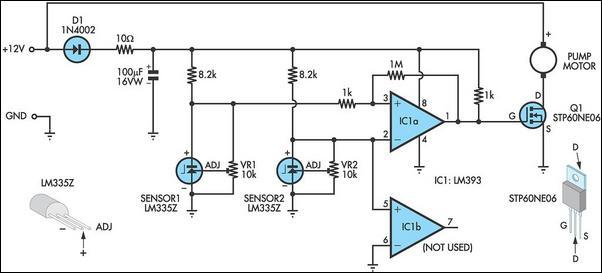 Designing a Light/Dark Sensor for motors, using Transistor