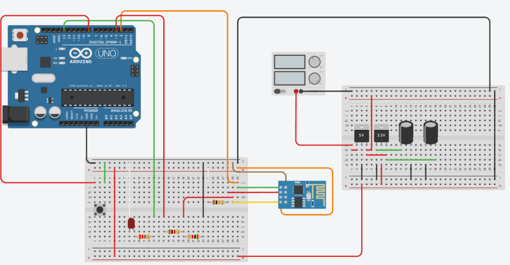 medium resolution of 12 v to 5 3 3 v regulator issue with arduino and esp8266