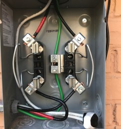 electric meter jumpers home improvement stack exchange wiring electricity meter [ 1164 x 1552 Pixel ]