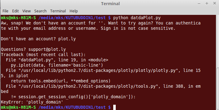 python 2.7 - ImportError: 'No module named plotly.plotly' in LinuxMint17.3 - Stack Overflow