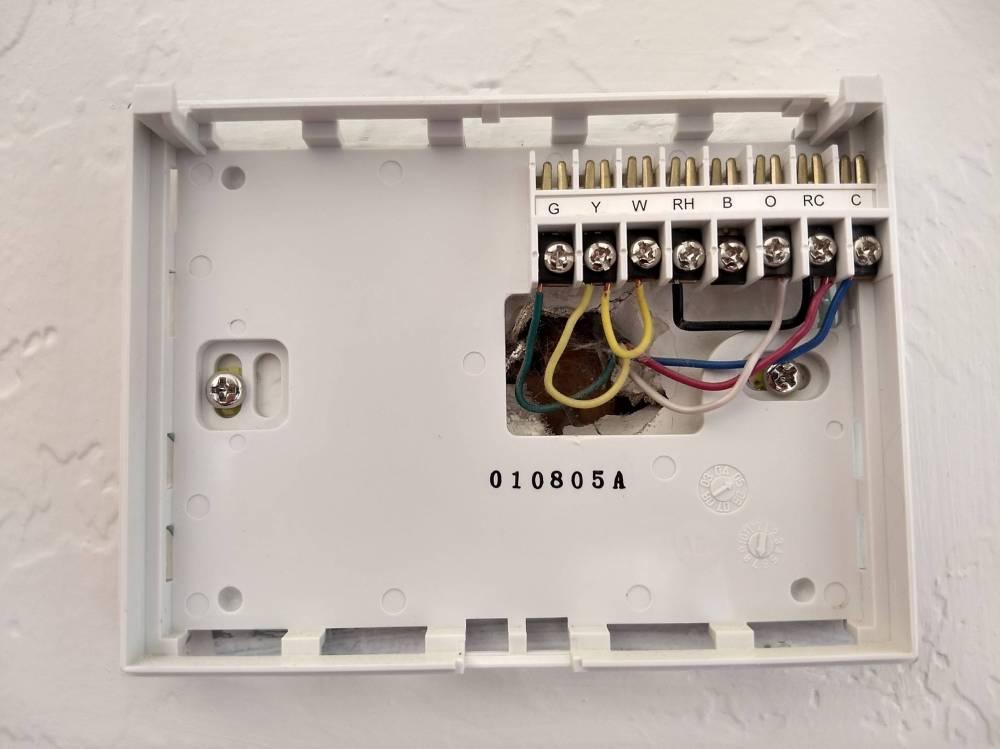 medium resolution of wiring air handler doityourselfcom community forums wiring diagram honeywell rth2300 wiring doityourselfcom community forums