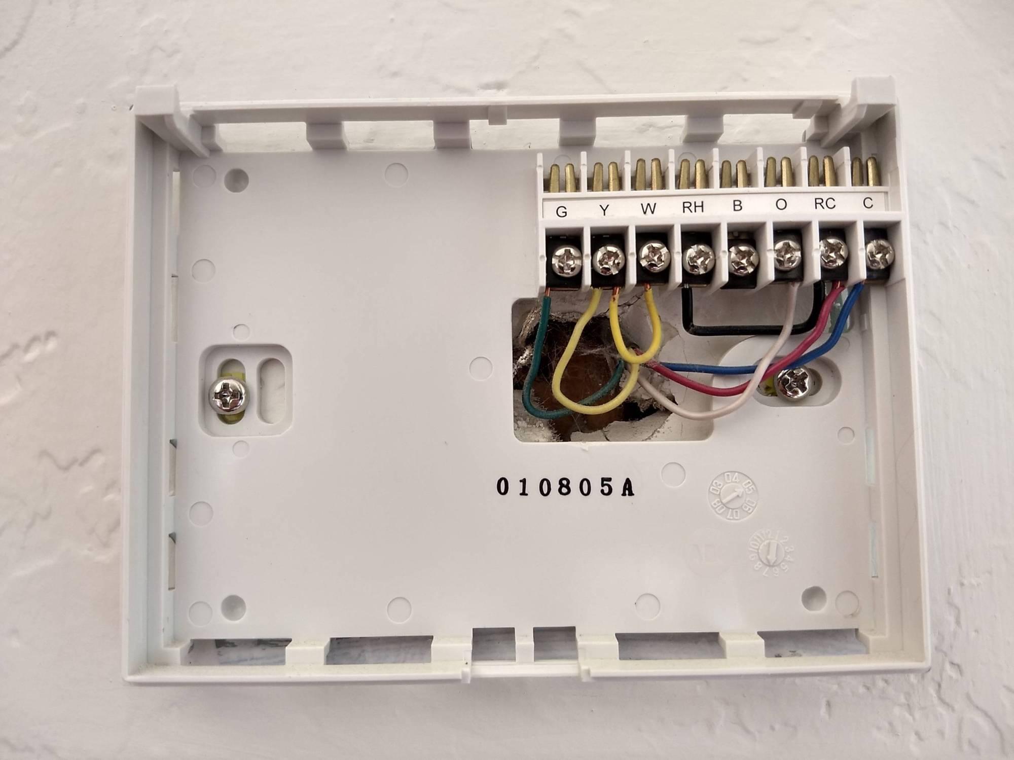 hight resolution of wiring air handler doityourselfcom community forums wiring diagram honeywell rth2300 wiring doityourselfcom community forums