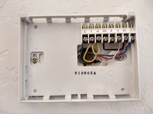 small resolution of wiring air handler doityourselfcom community forums wiring diagram honeywell rth2300 wiring doityourselfcom community forums