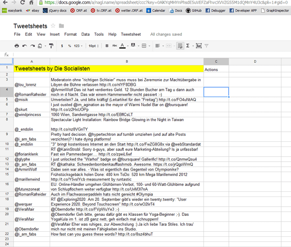Google Docs spreadsheet formula for most frequent keywords - Stack ...