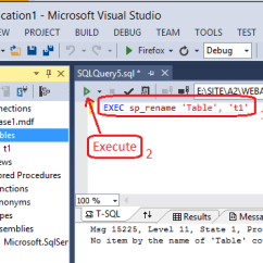 Database Diagram Visual Studio 2013 4 Pin Flasher Unit Wiring How To Change The Table Name In Design Mode Enter Image Description Here