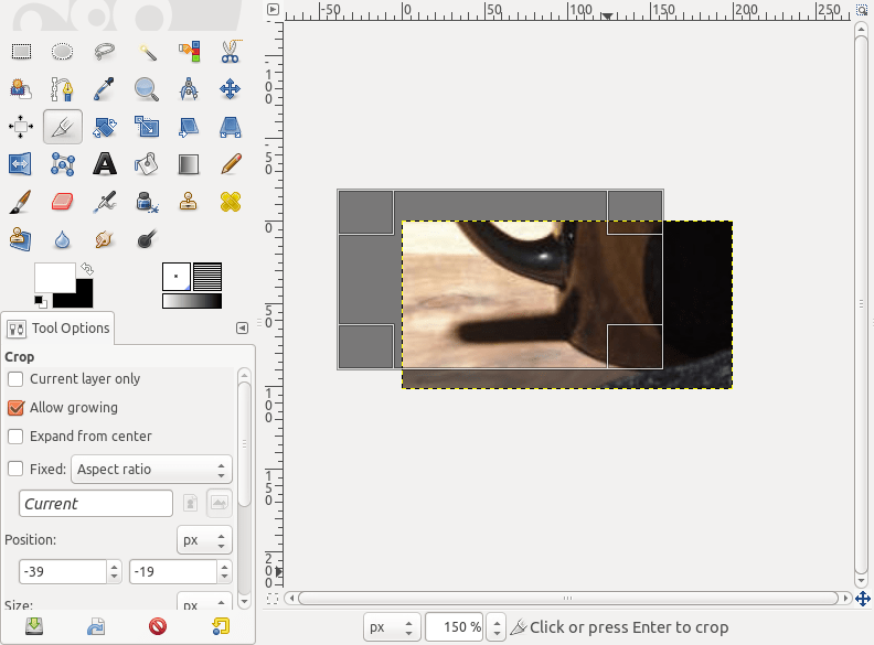 drag to resize canvas