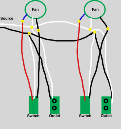 wiring two fans in series wiring diagram for you wiring ceiling fans in series wiring fans in series [ 1070 x 1240 Pixel ]