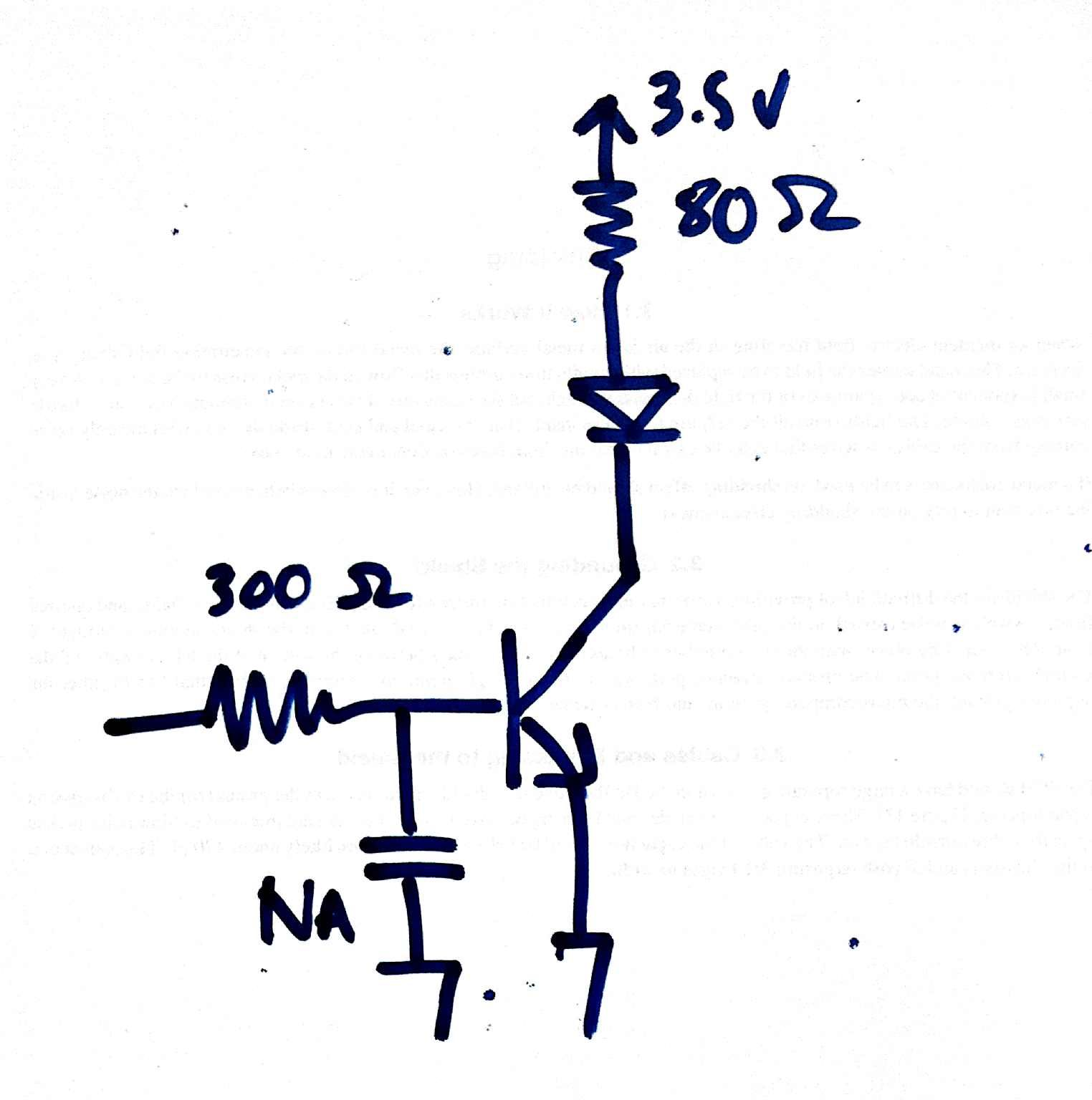 hight resolution of schematic showing a simple npn switching circuit
