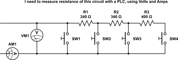 4 wire measurement circuit john deere 3020 wiring diagram pdf resistance calculate accuracy of kelvin schematic current