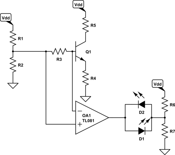 Would this circuit work? NPN & PNP transistors ~in