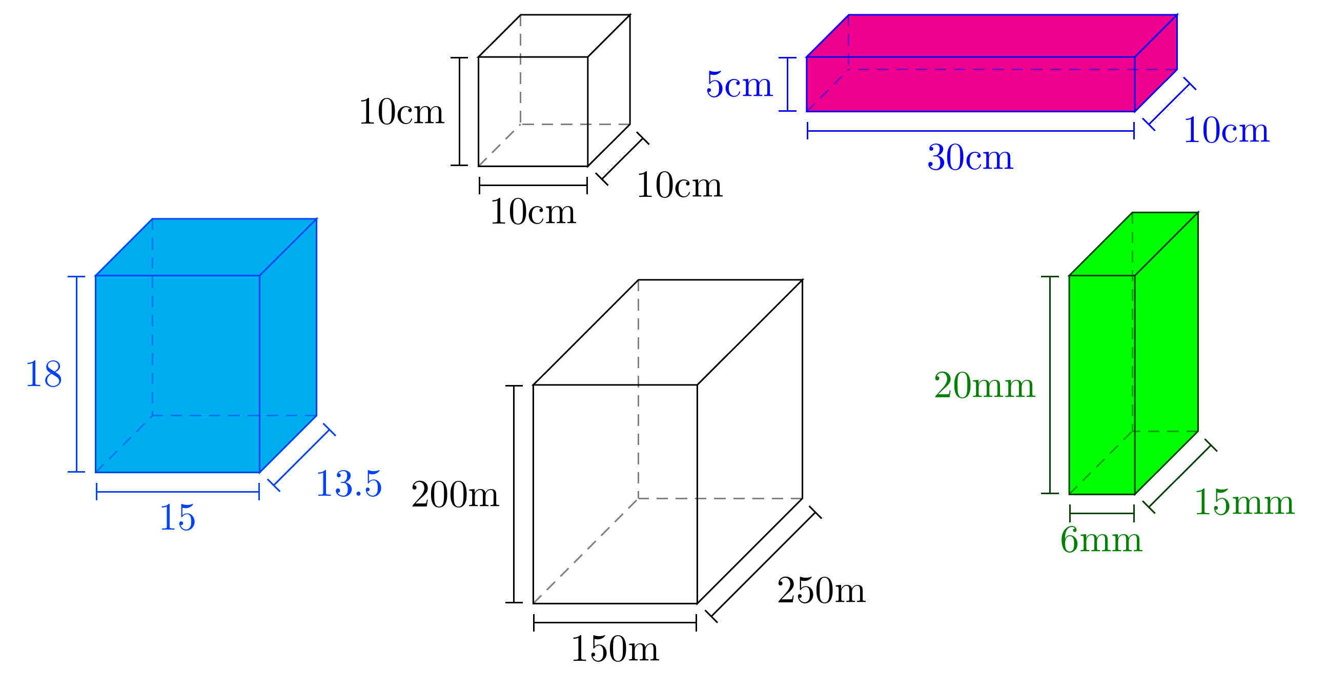 What Is The Easiest Way To Draw 3d Cube With Tikz