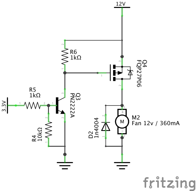 channel mos fet high side switch driver