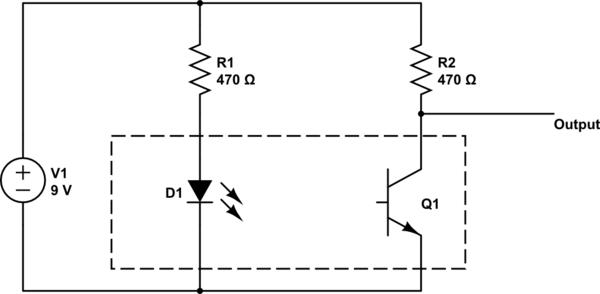 opto interrupter circuit