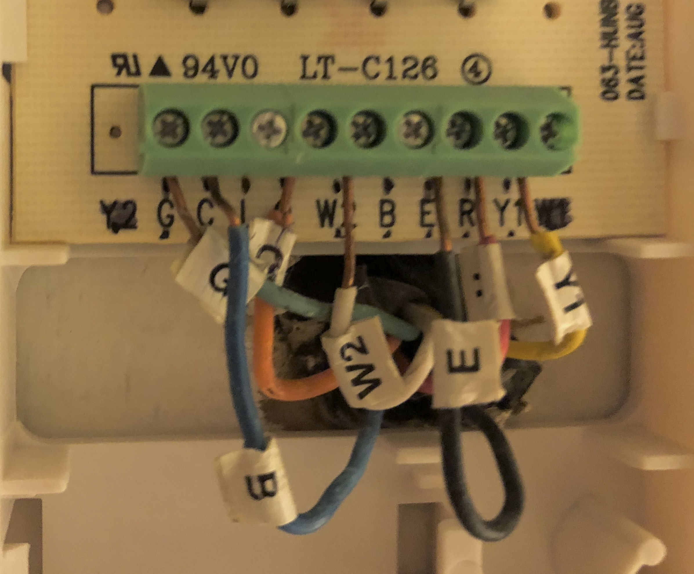 Thermostat Wiring Diagram Likewise Black And White Wire Home Wiring