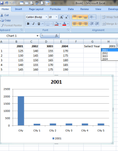 Dynamic data range  want to change the chart also how dynamically on drop down list in excel rh stackoverflow