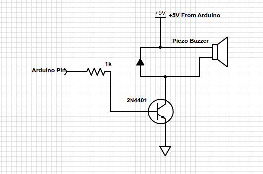 Need help: Arduino + 555 timer + loud alarm signal