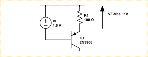 PNP transistor with audio signal output on collector is
