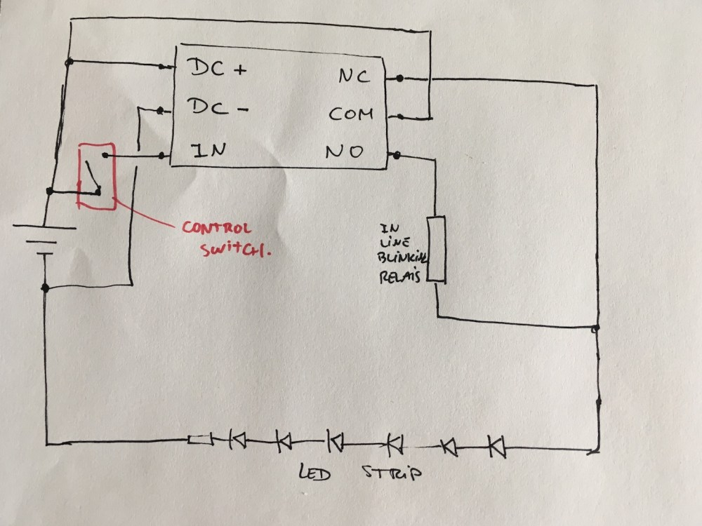 medium resolution of how to wire a relay for drl blinker