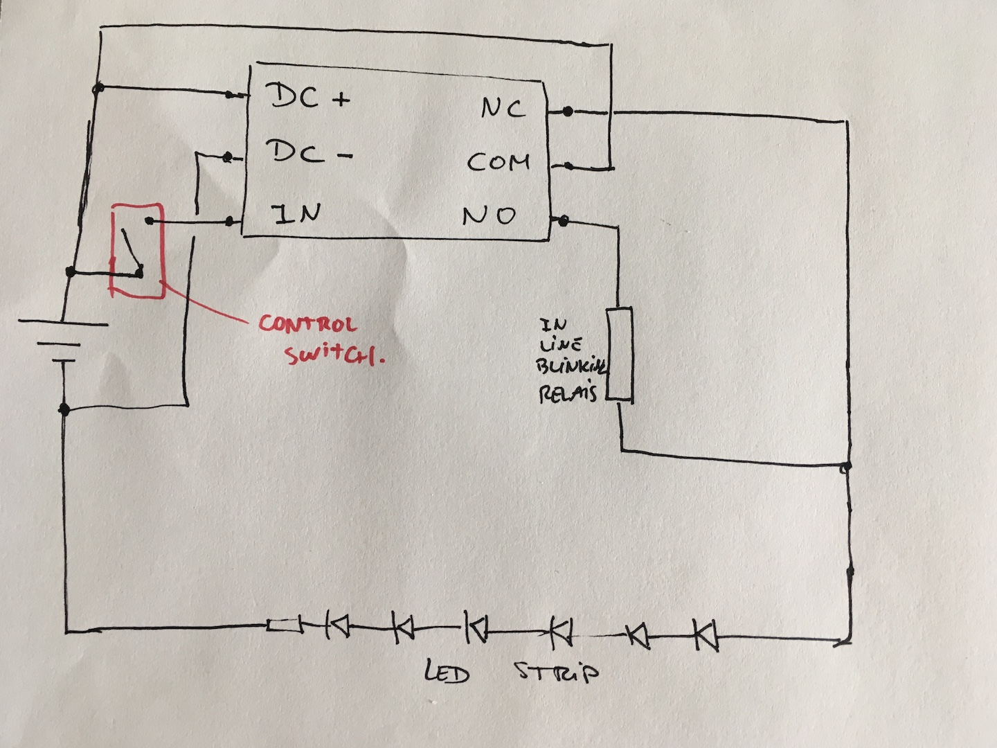 hight resolution of how to wire a relay for drl blinker