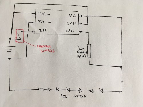 small resolution of how to wire a relay for drl blinker