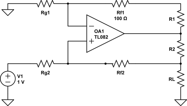 constant current source op schematic besides negative differential