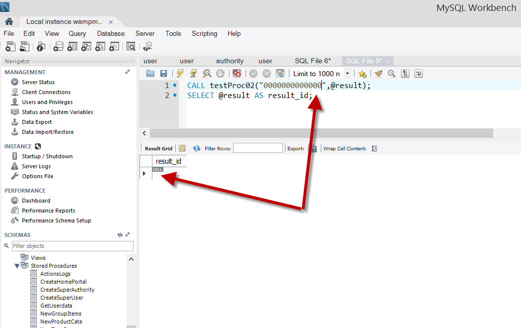 Cannot set variable in if else statement in MySql - Stack Overflow