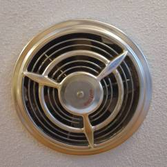 Kitchen Fan Cover Kraftmaid Cabinets How Can I Insulate Vent To Prevent Cold Air Blowing Through Have A Similar Exhaust In The Enter Image Description Here