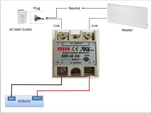 arduino  SSR ticking when controlling heater  Electrical