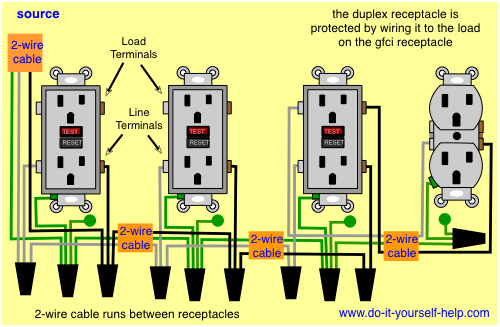double gang schematic wiring