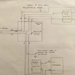 Gfci Outlet Switch Wiring Diagram Dimmer Uk Electrical Need To Add A An Existing