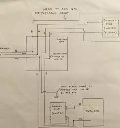 need to add a gfci outlet to an existing furnace circuit homefurnace circuit wiring diagram [ 3126 x 2374 Pixel ]