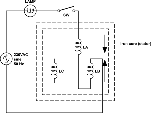 The leads of my 3-phase motor are incorrectly labeled. How