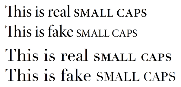 fonts - Fake small caps with XeTeX/fontspec? - TeX - LaTeX ...