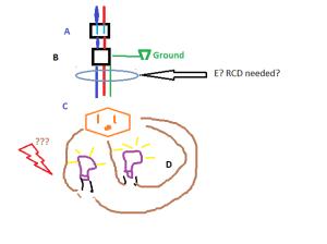 electrical  Outdoor lighting: use 12V transformer or 220