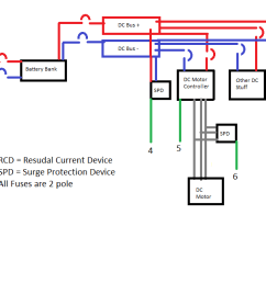 electrical off grid pv system grounding question home pv grounding diagrams [ 1426 x 623 Pixel ]