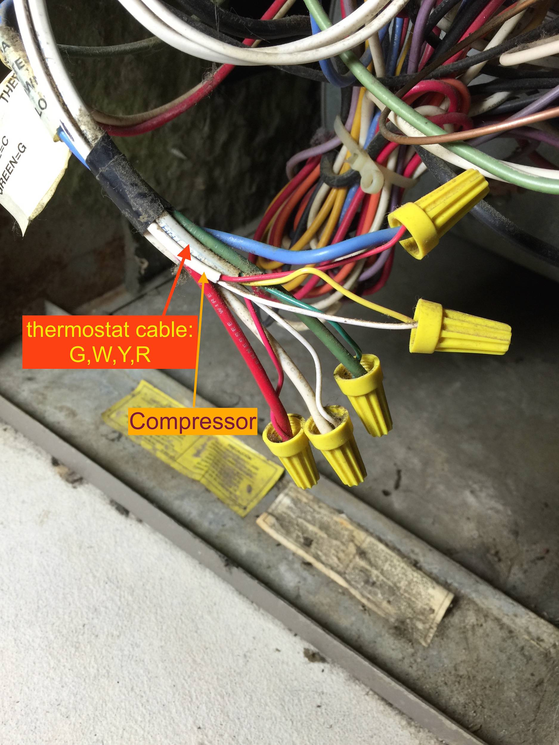 Ac Control Wiring Diagram Adding Venstar Add A Wire To Hvac Home Improvement Stack