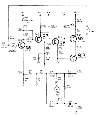 Transistor Based Amplifier and DC Only Negative Feedback