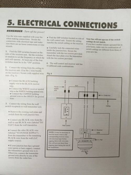 small resolution of  and mounted manufacturer s wiring guide electrical switch ceiling fan