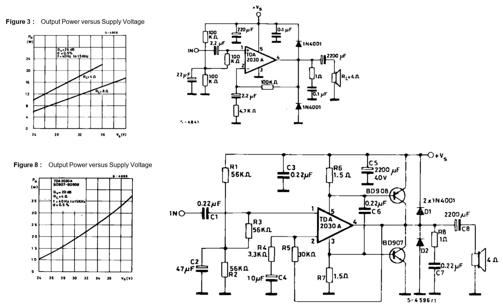 Audio Amplifier Circuit Diagram Using Transistor